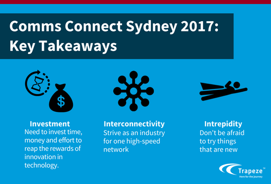 Key Takeaways from Comms Connect Sydney 2017