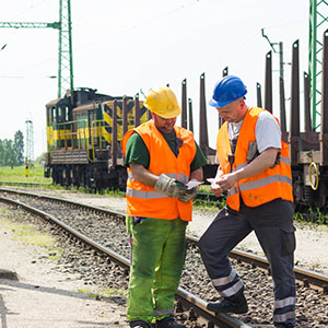 Rail maintenance workers EAM