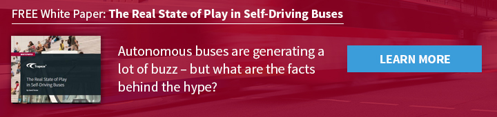 The Real State of Play In Self Driving Buses Trapeze Group White Paper
