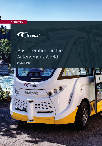 Trapeze Whitepaper - Bus Operations in the Autonomous World