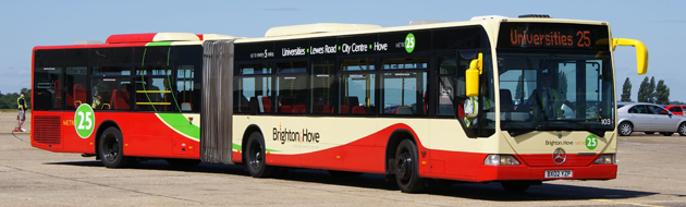 Brighton and Hove bus asset maintenance erp software
