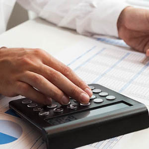 Financial Forecasting calculations ERP software