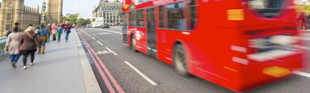 Transport for London bus service intelligent transport systems software