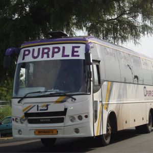 Prasanna Purple Bus for Bus ERP software