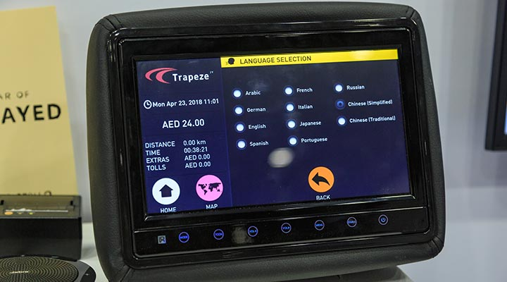 Trapeze Group Taxi Business Management Solution Software translation app