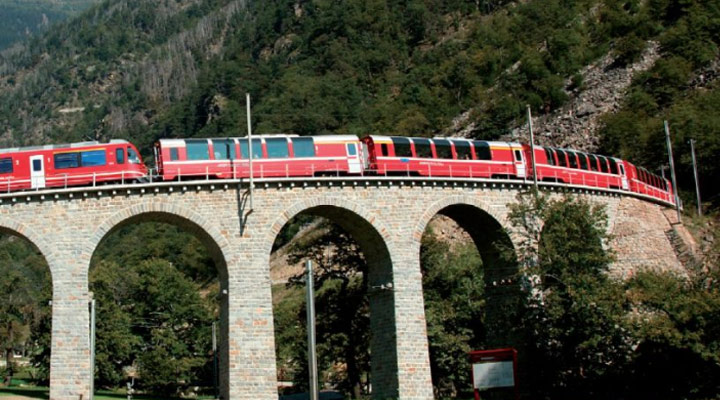 Swiss trains run like clockwork with Trapeze ITS