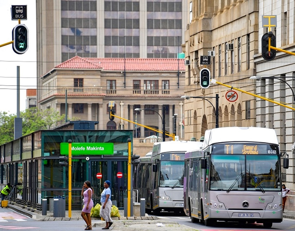 Bus system in South Africa