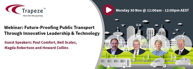 Webinar - Future-Proofing Public Transport Through Innovative Leadership and Technology