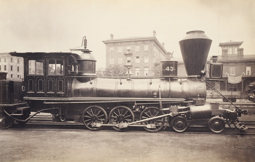 Railway back in the past