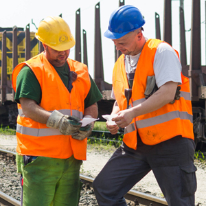 rail maintenance and track workers EAM
