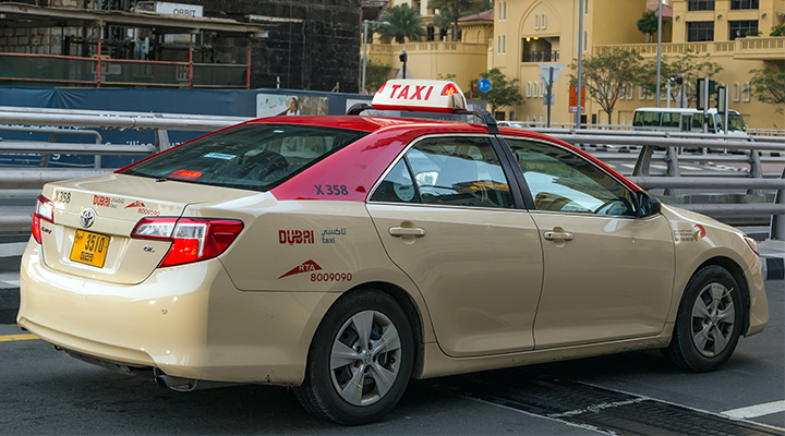 Smart maps in Dubai drive taxis to passengers