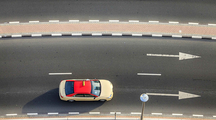 Dubai Taxis Featured in the Khaleej Times